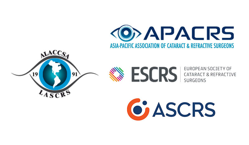 ASCRS, ESCRS y APACRS